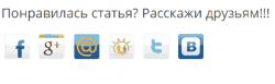 Социальные кнопки в WordPress
