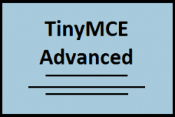Плагин TinyMCE Advanced WordPress
