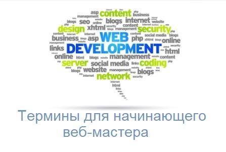 Словарь терминов для начинающего веб-мастера